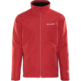 Columbia Bradley Peak Jacket Men red spark